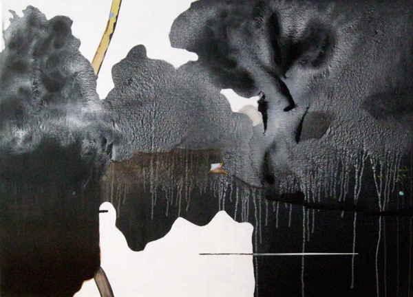 Stefan_Schw_spreewald (schwarz-weiss) 100 x 140 cm_2013